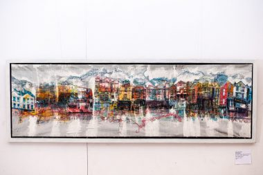 HAF wEIGHTON lIDO TO BROUHAHA ON GREEN LANES, PRINT PAINT STITCH, EXHIBITION2019PenarthPier-2