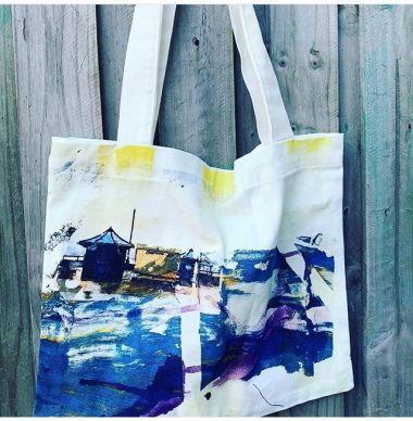 Haf Weighton - Totes bag made by Matthew Lawrence Bespoke